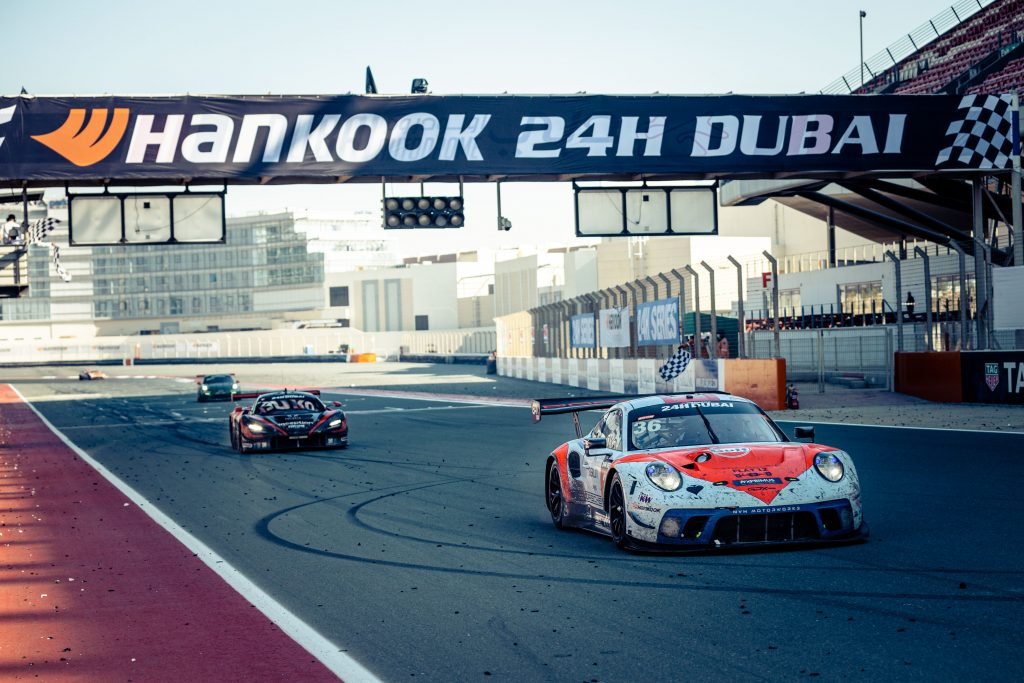 24h Race Dubai 2021: The first 24h home victory for KW Competition customer GPX Racing!